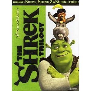 The Shrek Trilogy (Shrek / Shrek 2 / Shrek the Third) (Full Screen Edition) (2001)