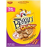 Purina Beggin' Crunch Smoked Bacon Dog Treats – 48 Oz. Pouch Review