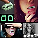 Halloween Party Night Glow Luminous Fake Teeth for Masquerade Props Festival Holiday Decoration Party Supplies