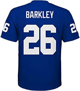 5b454dbd36c5f Outerstuff Saquon Barkley New York Giants #26 Blue Youth Mid Tier Home  Jersey