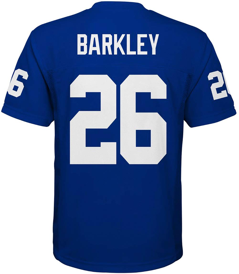 394f180d518e4 Amazon.com : Outerstuff Saquon Barkley New York Giants #26 Blue ...