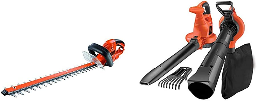 Black+Decker GT5560-QS Cortasetos (550 W) + BLACK+DECKER GW3050-QS ...