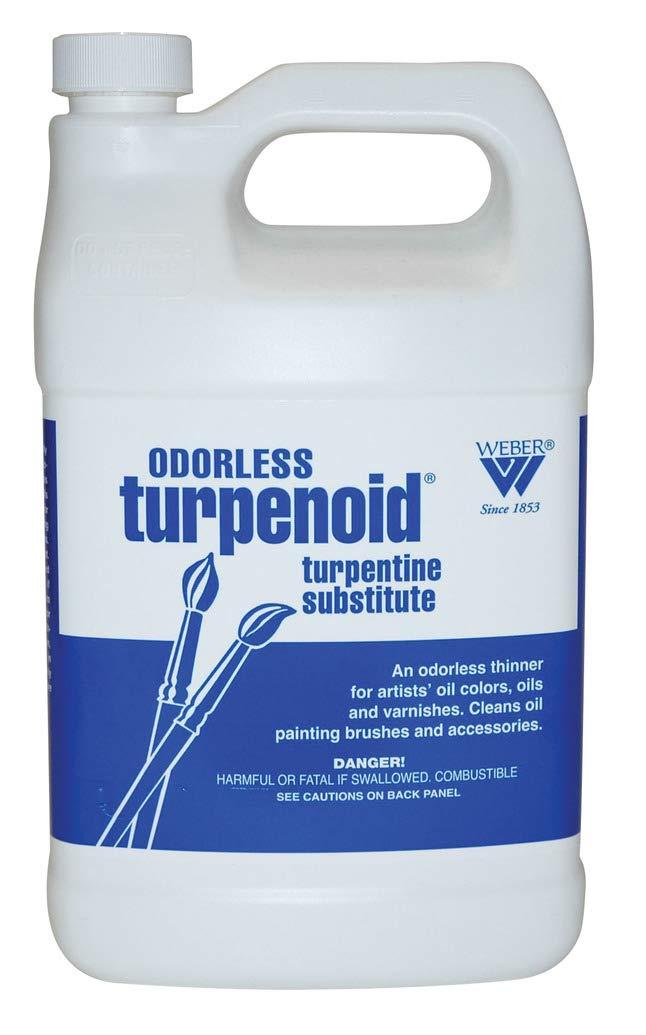 Weber Odorless Turpenoid, 946ml Bottle, 1 Each (1684) by Martin & F. Weber