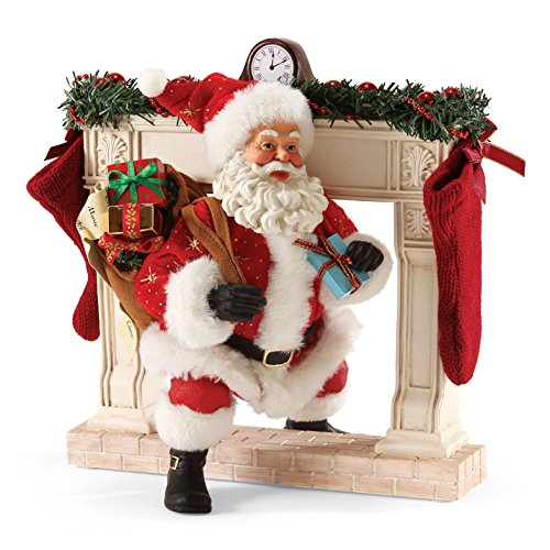 Department 56 Possible Dreams Christmas Making an Entrance Santa Figurine