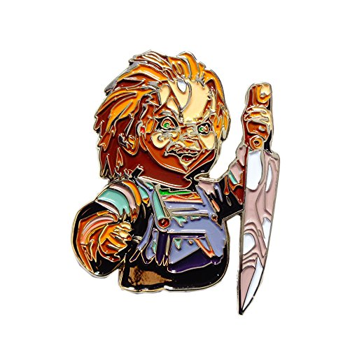 Cult of Chucky Doll Collectible Killer Horror Alternative Art Movie Pin -