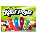 Kool Pops Sour Freezer Pops