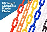 ChainBoss Blue Plastic Chain with Sun Shield 10