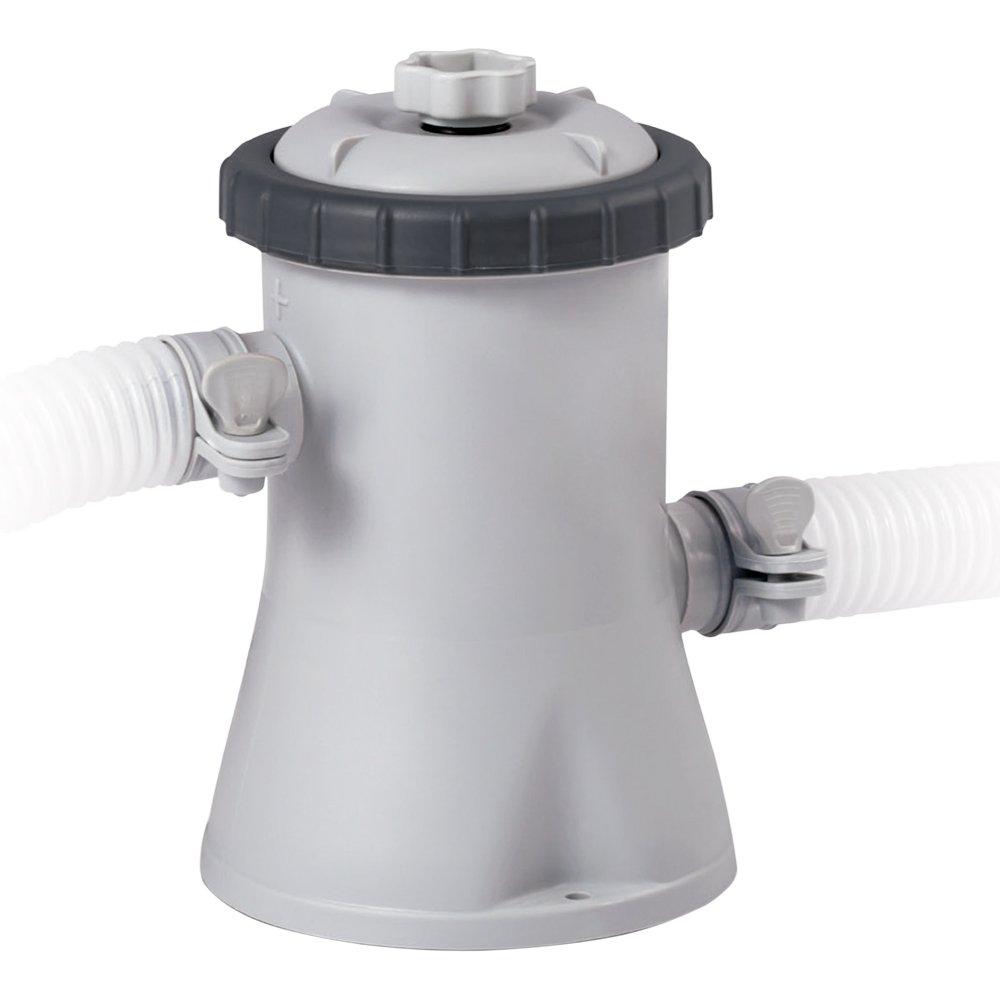 Intex 28602 - Depuradora cartucho tipo H Krystal Clear 1.250 litros/hora: Amazon.es: Jardín
