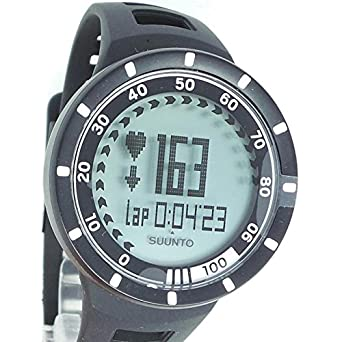 Uhr Suunto Herren 305800 Skylightfilter Quarz Harz Quandrante grau Armband Silikon