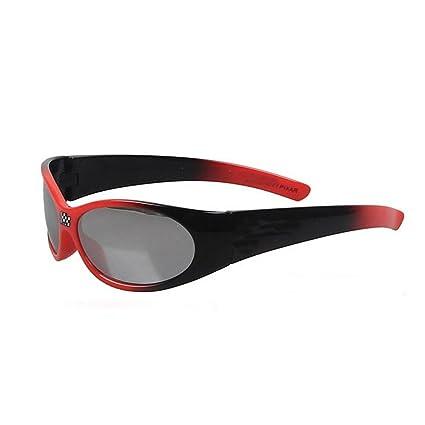 Cool Red & BlackKids Gafas de sol deportivas para niños ...