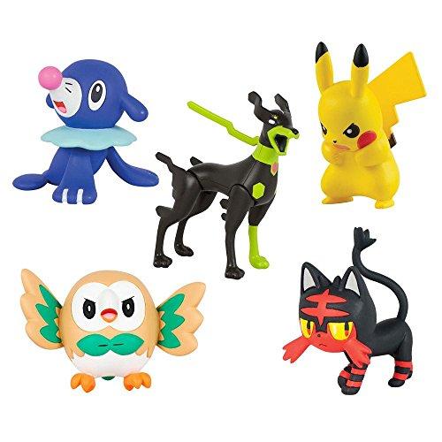 Pokemon Pikachu Confined Action Figures