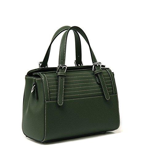 Lady'S Con Bolso GWQGZ Green Listados Bolso Nueva Y Gules De Moda Solo t54w4qz
