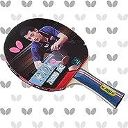 Raquete de tênis de mesa Butterfly RDJ S2 Shakehand | vermelho e preto