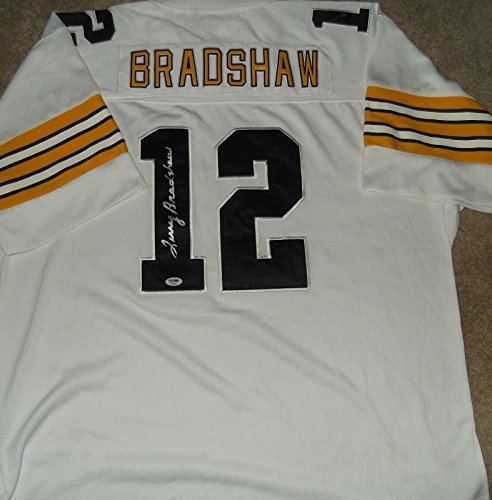 Signed Terry Bradshaw Jersey - COA!!! - PSA/DNA Certified - Autographed NFL (Terry Bradshaw Signed Jersey)