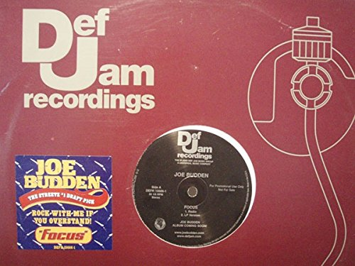 (Joe Budden Near Mint Radio Station Promo Issue 12 Inch Single - Focus - Def Jam 2002)