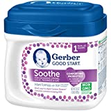 Gerber Good Start Soothe Non-GMO Powder Infant Formula, Stage 1, 22.2 Ounce