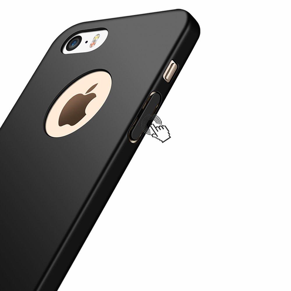 Ligera Joyguard iPhone 6//6s Carcasa Ultra-Delgado 4.7pulgada Anti-rasgu/ños Estuche para Case iPhone 6//6s Funda iPhone 6//6s Negro