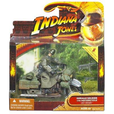 Indiana Jones - Last Crusade - German Soldier with Motorcycle (Figure Soldier German)