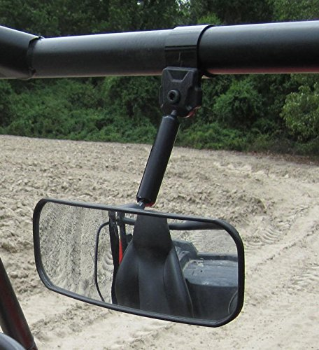 Spike Powersports Polaris RZR and Ranger Wide Angle Rear View Mirror