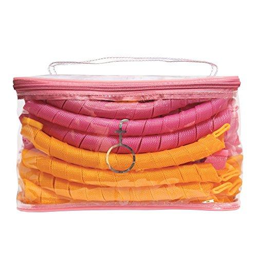 Curlformers Hair Curlers Spiral Curls Styling Kit, 40 Hair C