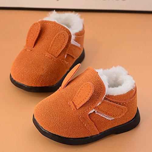 Baby Stiefel, BZLine® Baby Warm Cartoon Martin Sneaker Winter Schnee Baby Casual Stiefel Gelb