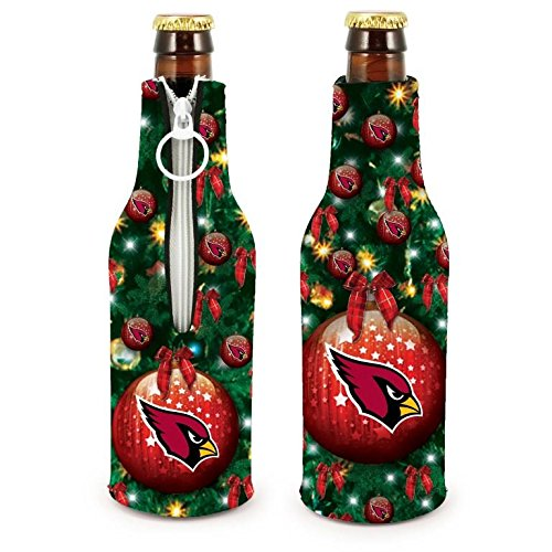 NFL Football 2015 Christmas Ugly Party Bottle Suit Holder Cooler 2-Pack (Arizona Cardinals)