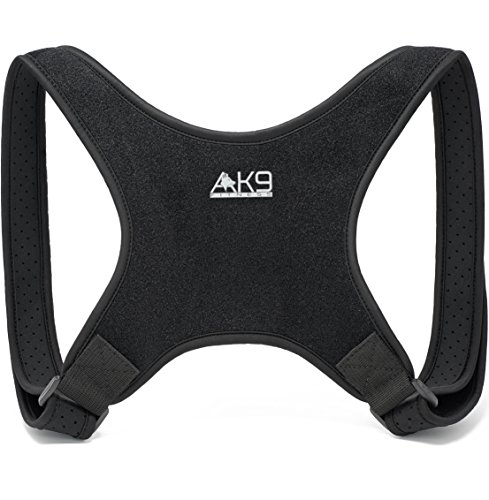 Posture Corrector for Women and Men - Thinner Straps Eliminate Underarm Discomfort! Adjustable Shoulder Brace to Fix Forward Head Posture/Kyphosis for Back & Neck Pain Relief - Invisible Under Clothes by AK9 FITNESS