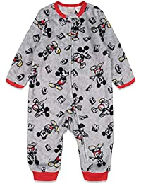 Mickey Mouse Baby Boys' Fleece Sleep n Play Coveralls