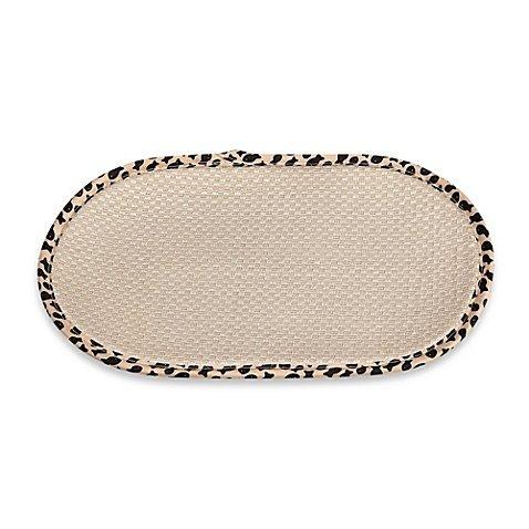 The Original Cat Bowl Mat in Taupe (1)