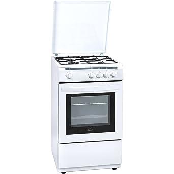 Selecline YG-55 E - Cocina (Cocina independiente, Blanco, Giratorio, Frente