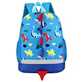 Cute School Backpack,VENMO Cartoon Dinosaur Toddler Kids School Book Bags Children Small Backpack Daysack For Girls Boys, 25*30cm (Blue)