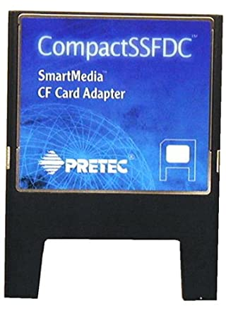 Pretec Smart Media Compact Flash Card Adapter Interno Negro ...