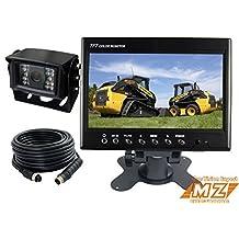 "7"" Digital Rear View Backup Reverse Camera System Cab Observation Cam System Kit for Forklift, Oversize Load Truck, Box Truck"