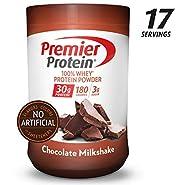 Premier Protein Whey Protein Powder, Vanilla Milk Shake, 28 Ounce
