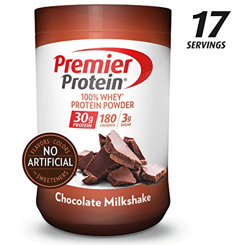 Premier Protein Whey Protein Powder, Chocolate, (28 oz)