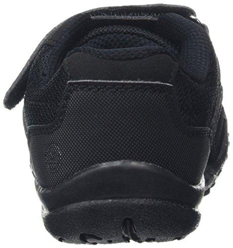 Regatta Unisex-Kinder Stonegate Low Jnr Schuhe mit Niedrigem Anstieg Schwarz (Black)