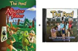 2 Pack DVD + CD Bundle - The Pond DVD: Alligator Hunter, Loving Your Enemies + The Pond CD: 19,000 Frogs and Counting, Tony the Frog Meets the Duggars
