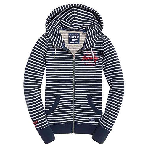 Mystic Xl Female Hoodies And Stripe Applique Navy Lite Sweatshirts Superdry zqRUYnZYw