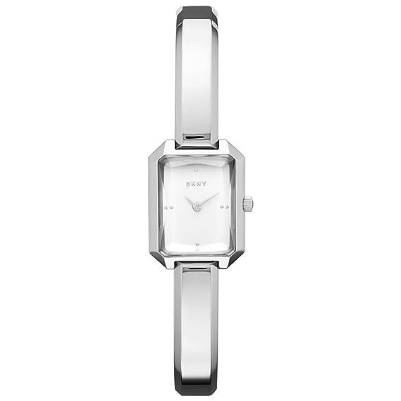 DKNY Reloj Analogico para Mujer de Cuarzo con Correa en Acero Inoxidable NY2647
