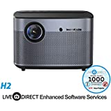 Home Theater Projector, LiveTV.Direct Enhanced Software Services H2 Auto Focus Native 1080p HD Projector Android 3D Smart Projector TV Built-in Harman/Kardon Customized HiFi Stereo
