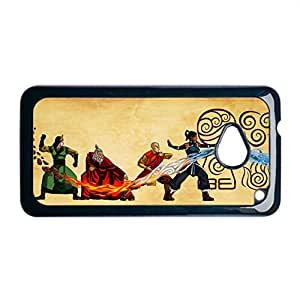 Generic Print With Avatar The Last Airbender Dropproof For Children Rigid Plastic For M7 One Htc Phone Shell