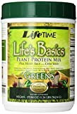 Lifetime Life's Basics Plant Protein with Greens, 19.84-Ounces Tub (Pack of 3)