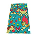 Weighted Blanket by Hiseeme for Children - Great for Autism, Anxiety, ADHD - Unicorns and Angel (41''x 60'', 7 lbs)