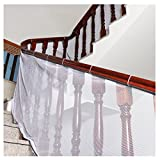Freebily Kids Children Thickening Safety Fence Net Balcony Stairway Railing Safe Guard Mesh Net Protector