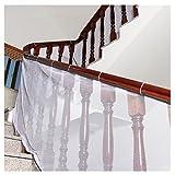 Freebily Kids Children Thickening Safety Fence Net Balcony Stairway Railing Safe Guard Mesh Net Protector