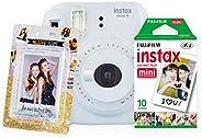 Fujifilm Paq Instax Love Mini 9 Películas y Álbum, color Humo, Paquete de 20