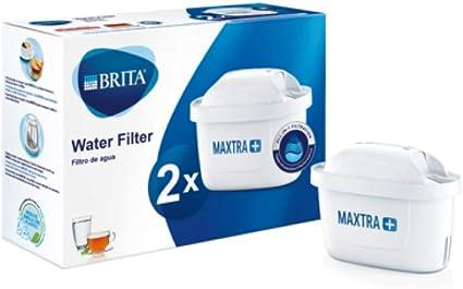 Oferta amazon: BRITA MAXTRA+ – Pack2filtros para el agua, Cartuchos filtrantes compatibles con jarras BRITA que reducen la cal y el cloro
