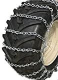 TireChain.com Medium Duty, V Bar 2-Link Lawn and Garden Tire Chains, Priced per Pair. 20 X 8.00 X 10, 20 X 8 X 8