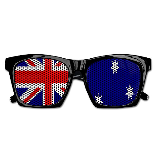 Elephant AN Themed Novelty Australia Flag Wedding Visual Mesh Sunglasses Fun Props Party Favors Gift - Australia Online Cheap Glasses