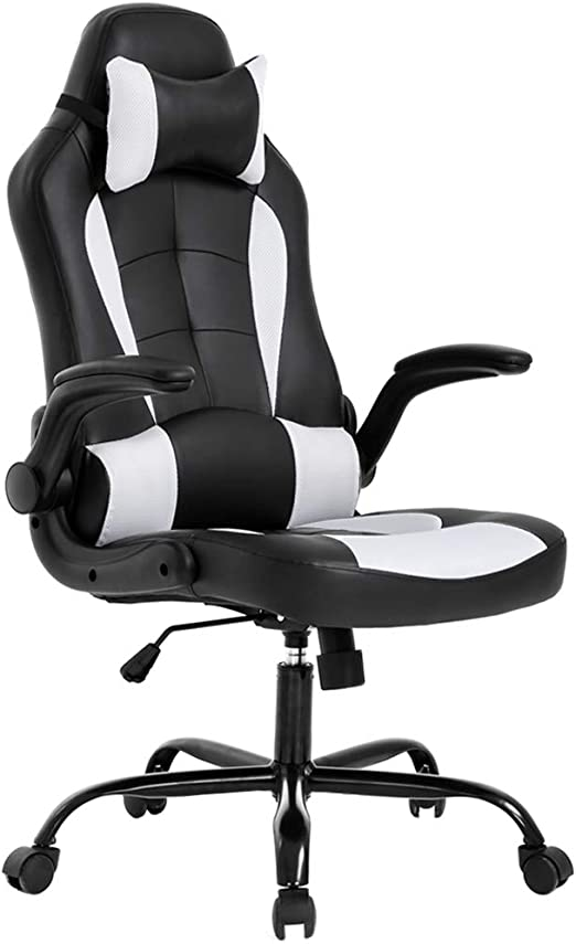 BestOffice PC Gaming Chair Ergonomic Office Chair Desk Chair - Incredible Lumbar Support